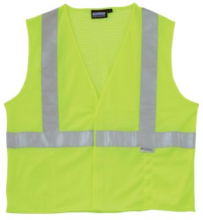 14510 S15 Class 2 Mesh Hi Viz Lime MD-ERB Safety