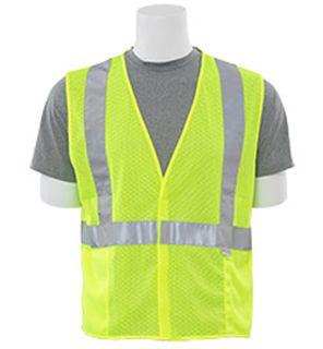 14511 S15 Class 2 Mesh Hi Viz Lime LG-ERB Safety