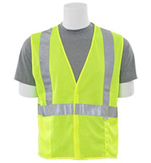 14512 S15 Class 2 Mesh Hi Viz Lime XL-ERB Safety