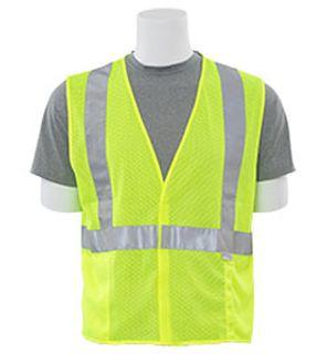 14513 S15 Class 2 Mesh Hi Viz Lime 2X-ERB Safety