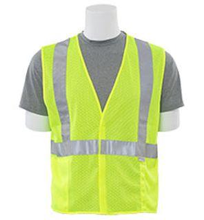 14515 S15 Class 2 Mesh Hi Viz Lime 4X-ERB Safety