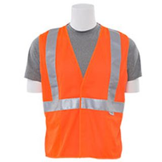 14523 S15 Class 2 Mesh Hi Viz Orange 4X-ERB Safety