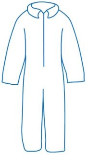 14713 PC120 Coveralls XL-ERB Safety