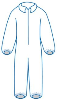 14799 PC125 Coveralls MD-ERB Safety