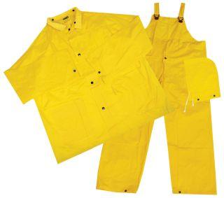 14910 4025 Non ANSI Rain suit 3pc. MD-