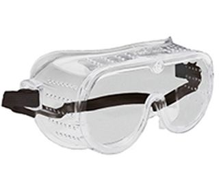 116 Perforated frame, Clear Anti-fog lens-ERB Safety
