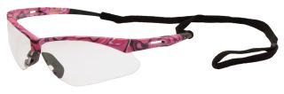 Annie Pink Camo frame, Clear Lenses-ERB Safety