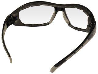 Ammo Black frame, Foam Lined, Clear Anti-fog lenses-