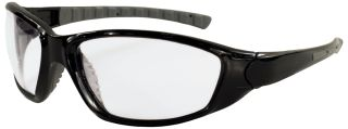 Ammo Black frame, Clear Anti-fog lenses-ERB Safety