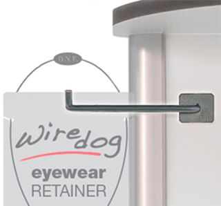Wiredog Eyewear Retainers with custom display hook-ERB Safety