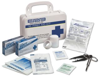 10 Plastic First Aid Kit-ERB SAFETY
