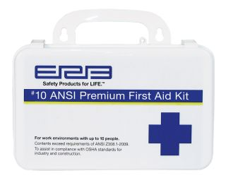 10 Plastic Premium First Aid Kit-ERB Safety