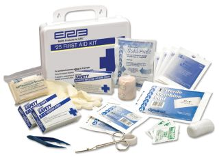 17132 Basic First Aid Kit Plastic-