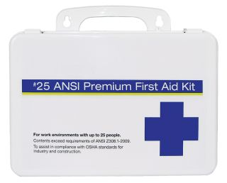 25 Plastic Premium First Aid Kit-ERB Safety