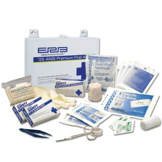 25 Metal Premium First Aid Kit-ERB Safety