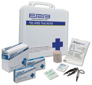 17135 Basic First Aid Kit Plastic-ERB Safety