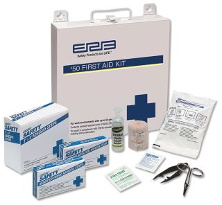 50 Metal Premium First Aid Kit-ERB Safety