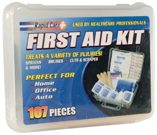Economy 107 pc First Aid Kit-ERB Safety