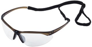 Pinpoint Gray frame, Clear lenses 1.0 Reader-