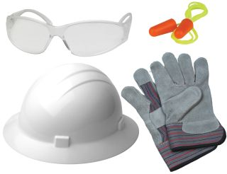 18560 AFB1 New Hire Kit Full Brim Clear-