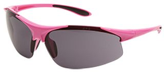 Ella Pink frame, Gray Anti-fog lenses-ERB Safety