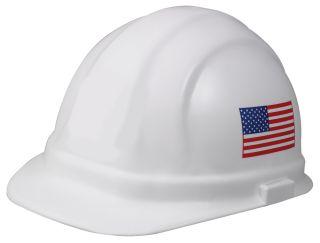 19140 Omega II Cap Standard 6 point nylon American Flag-