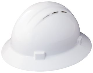 Americana® Vent Full Brim Safety Helmets-ERB Safety