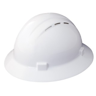 Americana® Vent Full Brim Safety Helmets