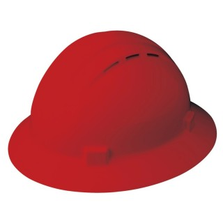 ANSI Type 1 Full Brim, Vented, 4-point-ERB Safety