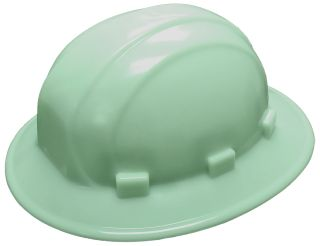 Omega II® Full Brim Safety Helmets Glow in the Dark-