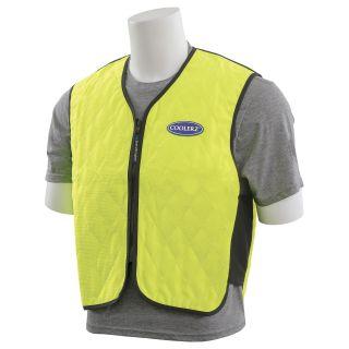 21573 C400 Coolerz Vest Lime 2X-