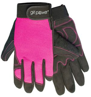 28859 Mechanics Gloves Girl Power at Work fitted for women-