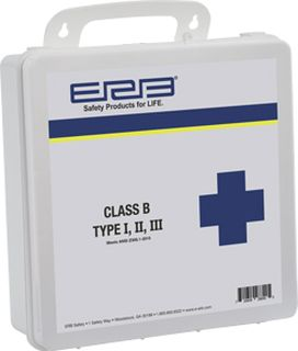 28890 ANSI 2015 First Aid Kit Plastic-