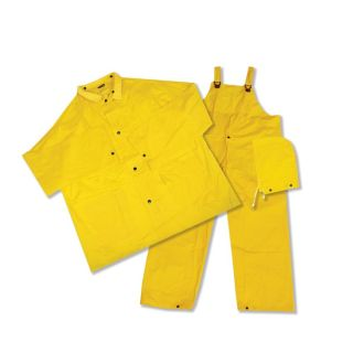 4025 Rainsuit, 3PC, .25mm Yellow