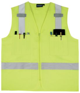 61200 S414 Class 2 Surveyor's Hi Viz Lime MD-