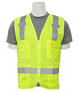 61202 S414 Class 2 Surveyor's Hi Viz Lime XL-