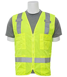 61204 S414 Class 2 Surveyor's Hi Viz Lime 3X-