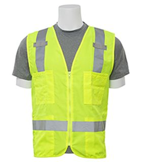 61205 S414 Class 2 Surveyor's Hi Viz Lime 4X-