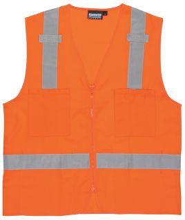 61208 S414 Class 2 Surveyor's Hi Viz Orange MD-
