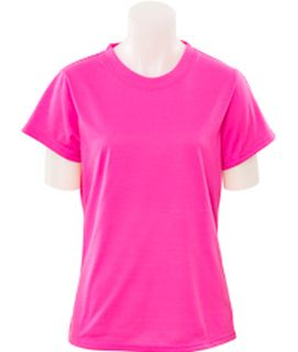 61288 7000 Non ANSI Women's Fitted T Shirt Jersey Knit SM-