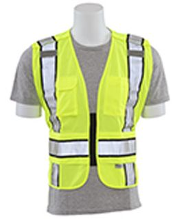 61304 S368 ANSI 207 Tricot Break Away Hi Viz Lime 5X 6X-