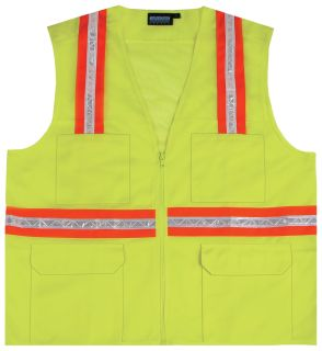 61318 S410 Non ANSI Surveyor Hi Viz Lime XS-