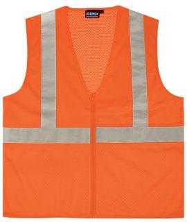 61453 S363 Class 2 Mesh Economy Hi Viz Orange MD-