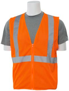 61457 S363 Class 2 Mesh Economy Hi Viz Orange 3X-