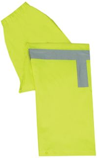 61514 S373PT Class E Lightweight Rain Pants Hi Viz Lime 3X-
