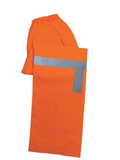 61518 S373PT Class E Lightweight Rain Pants Hi Viz Orange MD-