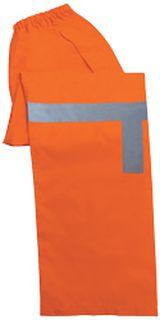 61523 S373PT Class E Lightweight Rain Pants Hi Viz Orange 4X-