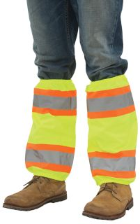 S487 Leg Gaiters with Contrasting Trim-