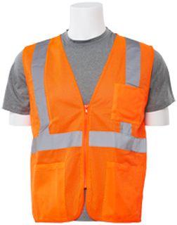 61662 S363P Class 2 Economy Hi Viz Orange 3X-