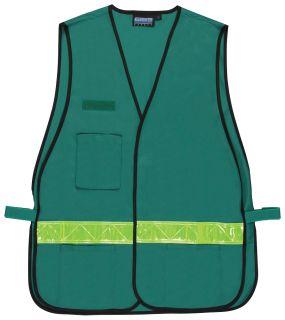 61703 S179 Non ANSI Vest Green OSFM-